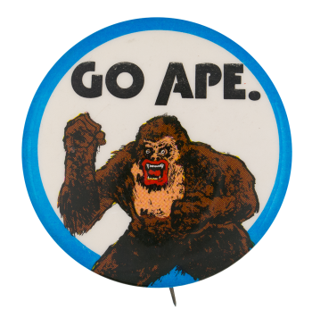 Go Ape Ice Breakers Button Museum