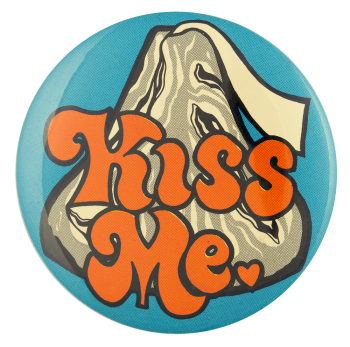 Hershey Kiss Me Ice Breakers busy beaver button museum