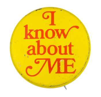 I Know About Me Ice Breakers Button Museum