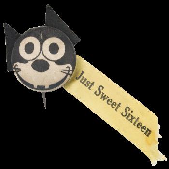 Just Sweet Sixteen Social Lubricator Button Museum