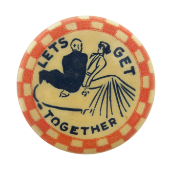 Let's Get Together Ice Breakers Button Museum