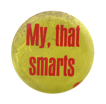 My That Smarts Ice Breakers Button Museum