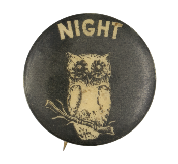 Night Owl Ice Breakers Button Museum