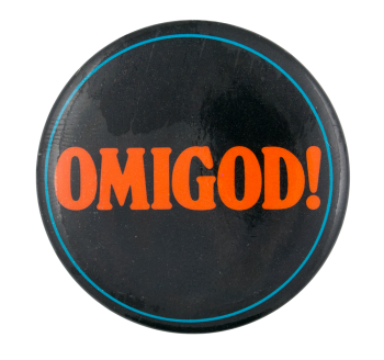 Omigod Ice Breakers Button Museum