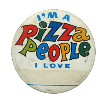 Pizza People Ice Breakers Button Museum