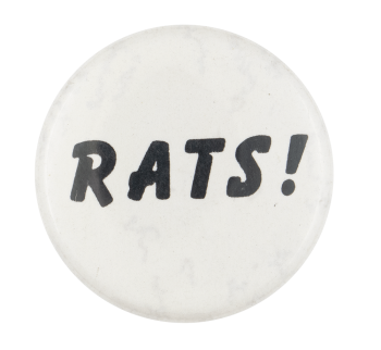 Rats Ice Breakers Button Museum