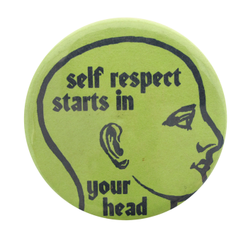 Self Respect Ice Breakers Button Museum