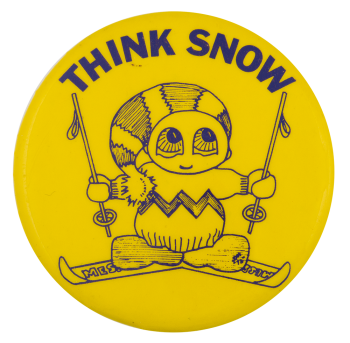 Think Snow Ice Breakers Button Museum