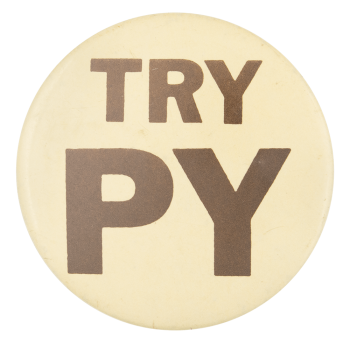 Try Py Social Lubricator Button Museum