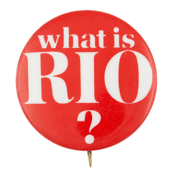What is Rio? Ice Breakers Button Museum