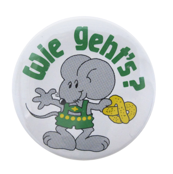 Wie Geht's Ice Breakers Button Museum