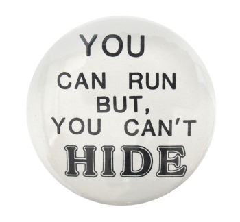 You Can Run Ice Breakers Button Museum