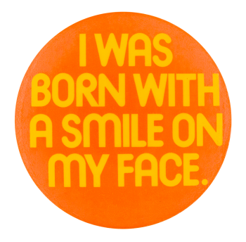 Born With a Smile Air Jamaica Smileys Button Museum