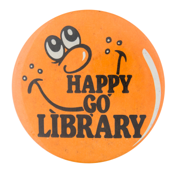 Happy Go Library Smileys Button Museum
