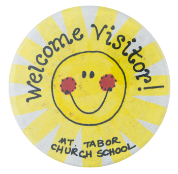Mount Tabor Church School Smileys Button Museum