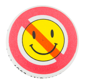No Smileys Smileys Button Museum