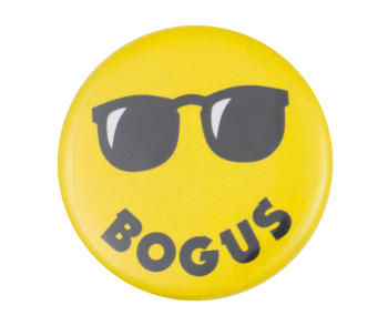 Bogus Books Smiley Smileys Button Museum