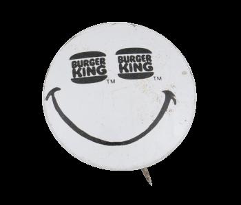 Burger King Eyes Smiley Smileys Button Museum