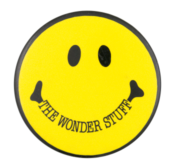 The Wonder Stuff Smileys Button Museum