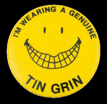 Tin Grin Smileys Button Museum