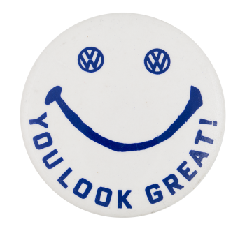 Volkswagen Smiley Smileys Button Museum
