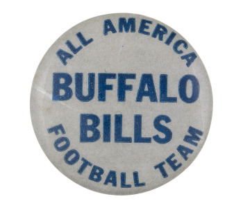 All America Buffalo Bills Sports Button Museum
