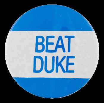 Beat Duke Sports Button Museum