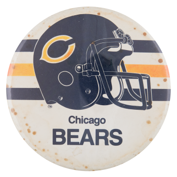 Chicago Bears Helmet Chicago Button Museum