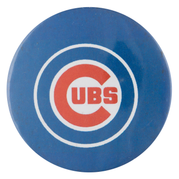 Cubs Blue Circles Chicago Button Museum