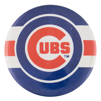 Cubs Dark Blue Sports Button Museum