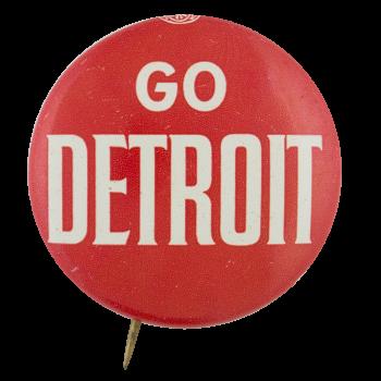 Go Detroit Sports Button Museum