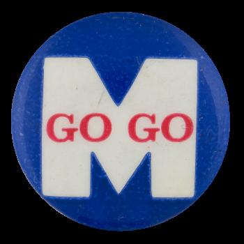 Go Go M Sports Button Museum