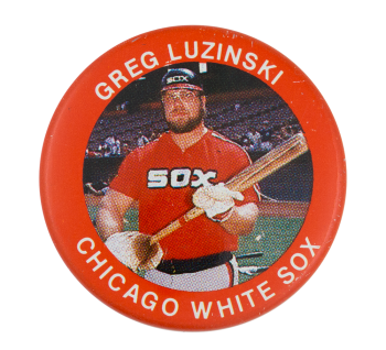 Greg Luzinski Chicago White Sox Sports Button Museum