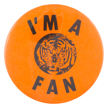 I'm a Fan Sports Button Museum