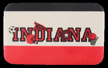 Indiana Hoosiers Schools Button Museum
