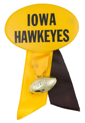 Iowa Hawkeyes Sports Button Museum