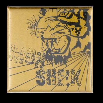 Iron Sheik Tiger Sports Busy Beaver Button Museum