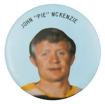 """John """"Pie"""" McKenzie Sports Button Mueum"""
