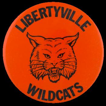 Libertyville Wildcats Schools Button Museum