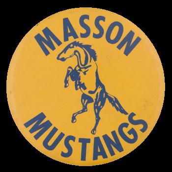 Masson Mustangs School Button Museum
