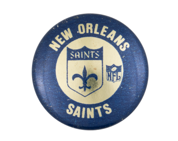 New Orleans Saints Sports Button Museum