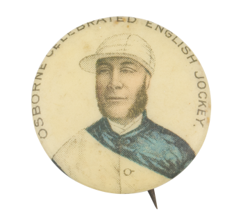Osborne Celebrated English Jockey Sports Button Museum