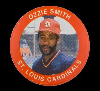 Ozzie Smith St. Louis Cardinals Sports Button Museum