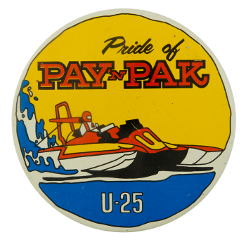 Pride Of Pay N Pack Sports Busy Beaver Button Museum