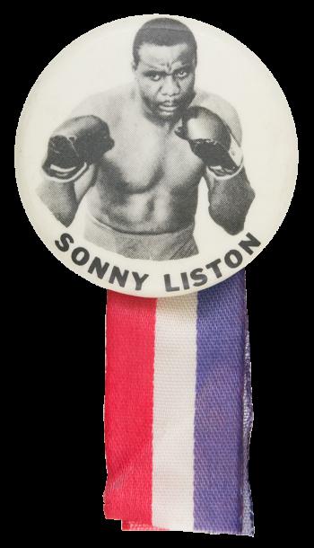 Sonny LIston Sports Button Museum