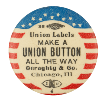 Make a Union Button Self Referential Button Museum