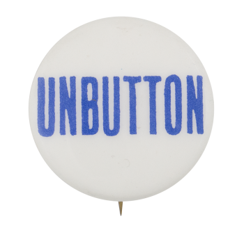 Unbutton Blue Self Referential Button Museum