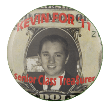 Kevin for 11 School Busy Beaver Button Museum