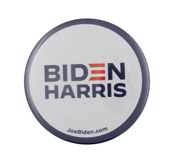 Biden Harris Campaign Political Busy Beaver Button Museum