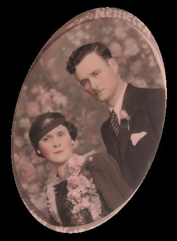 Portrait Of A Couple Art Button Museum